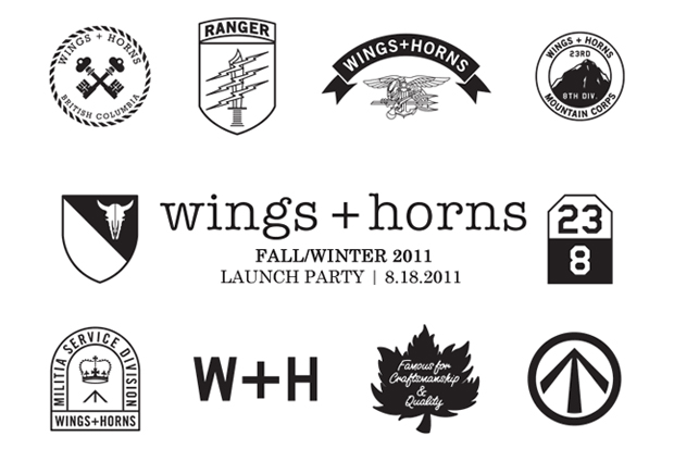 wings + horns 2011 Fall/Winter Launch Party @ Roden Gray