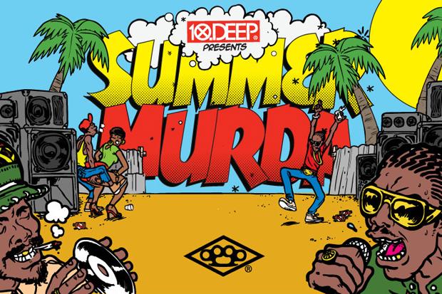 10 deep x federation sound summer murda mixtape event