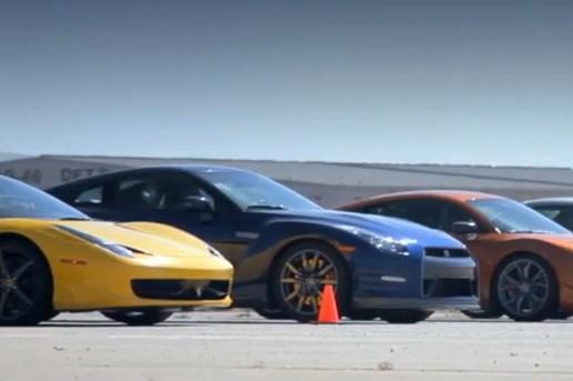 2011 Motor Trend Best Driver's Car Drag Race