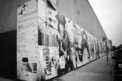 9/11 Tribute Mural by WK Interact