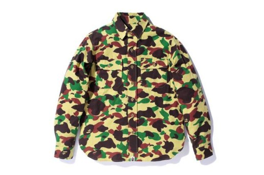 A Bathing Ape CAMO OUTDOOR SHIRT