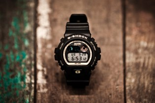A Bathing Ape x Casio G-Shock DW-6900 Black/Gold