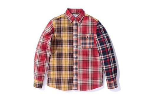A Bathing Ape CRAZY FLANNEL BD SHIRT