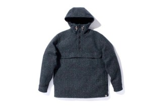 A Bathing Ape DONEGAL TWEED PULLOVER PARKA