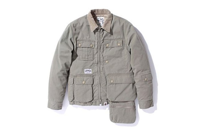 A Bathing Ape FISHING JACKET