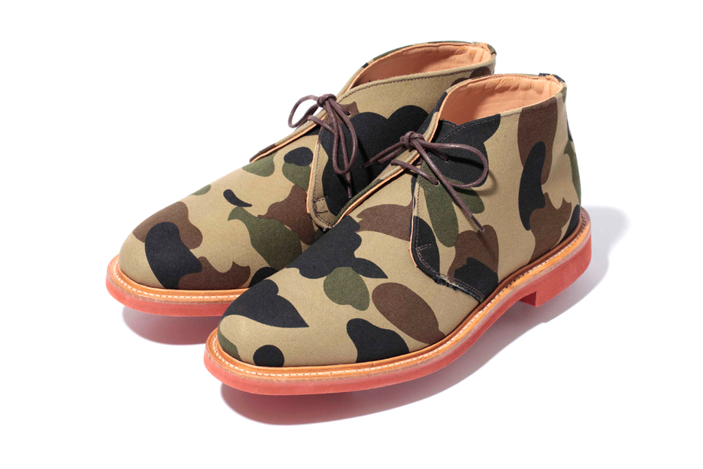 a bathing ape x mark mcnairy 2011 fallwinter 1st camo collection