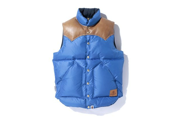 A Bathing Ape ROCKY MOUNTAIN DOWN VEST
