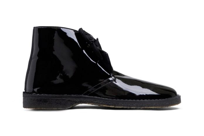 "Acne Desert Boot ""Patent"""
