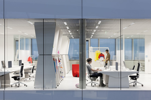 adidas Office Interior by KINZO