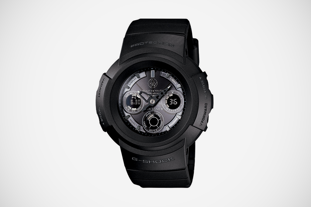 beauty youth x casio g shock awg500