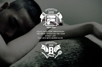 Buried Alive x Fila 2011 Fall/Winter Capsule Collection