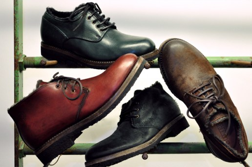 Buttero 2011 Fall/Winter Wool Lined Footwear