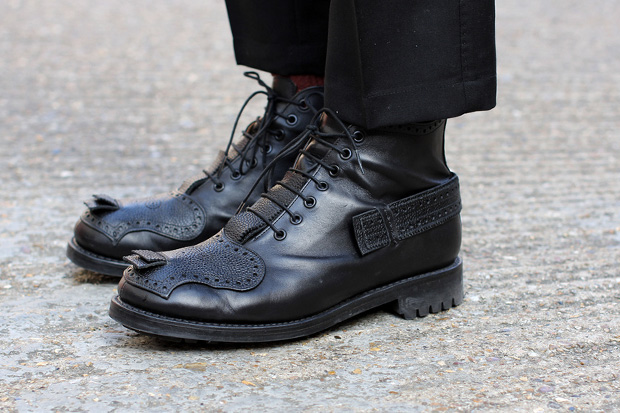 Casely-Hayford for John Moore Men's Brogued 7-Hole Boot