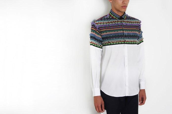 Christopher Shannon Half Pom-Pom Shirt