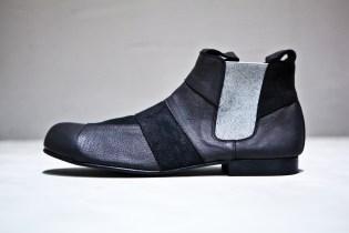 COMME des GARCONS HOMME PLUS Patchwork Chelsea Boots