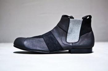 george cox comme des garcons homme plus black leather. Black Bedroom Furniture Sets. Home Design Ideas