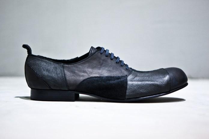 COMME des GARÇONS HOMME PLUS Patchwork Lace-Up Shoes