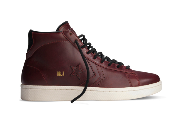 converse first string dr j pro leather horween