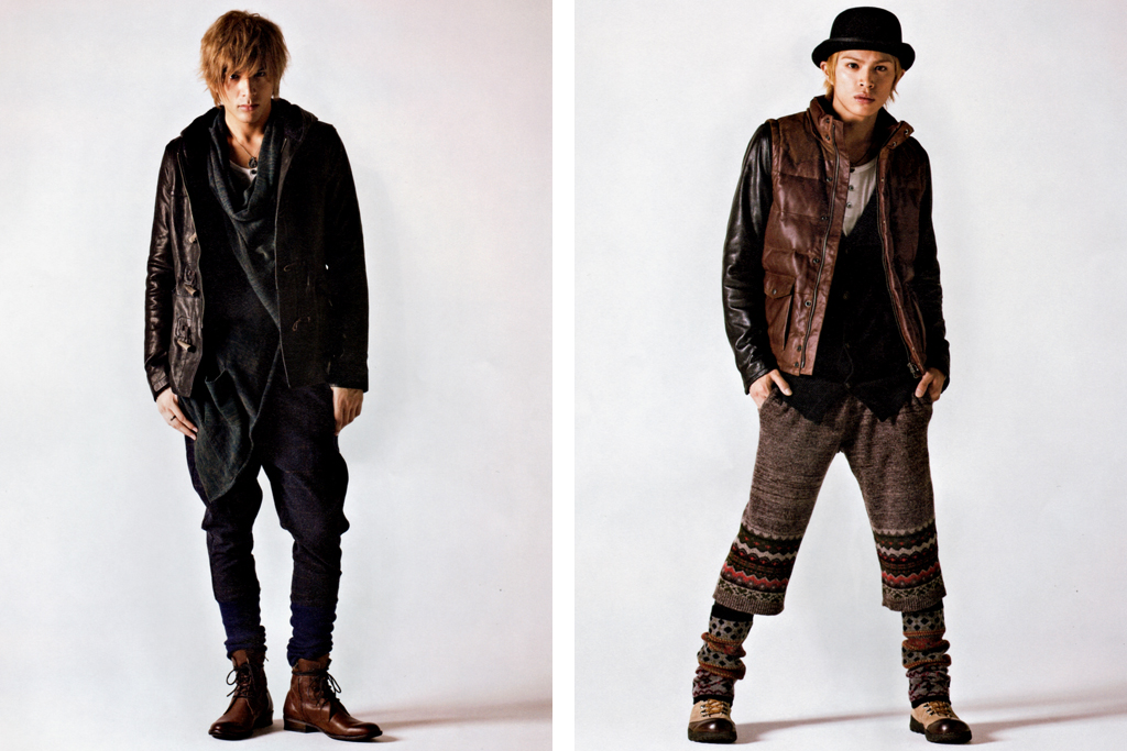 "COOL TRANS Magazine: glamb 2011 Fall/Winter ""Roundabout"" Collection Editorial"