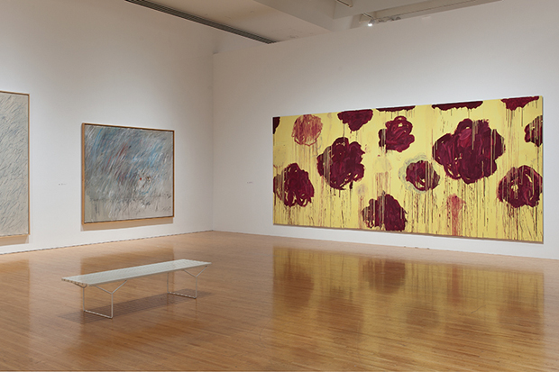 Cy Twombly Tribute: A Scattering of Blossoms & Other Things Exhibition @ MOCA