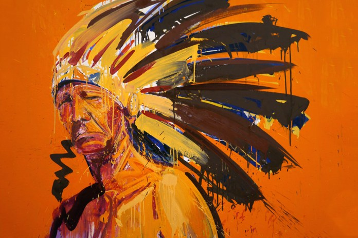 "Dave White ""Americana"" Exhibition @ Galleri Jules Julian"