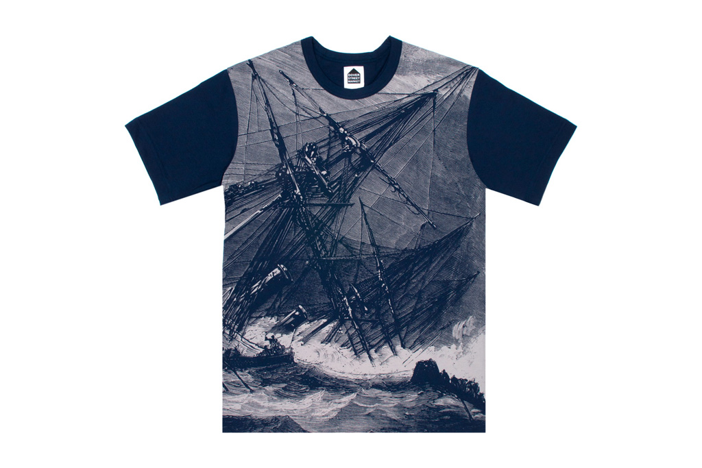 Dover Street Market Shipwreck & Waves Shirts