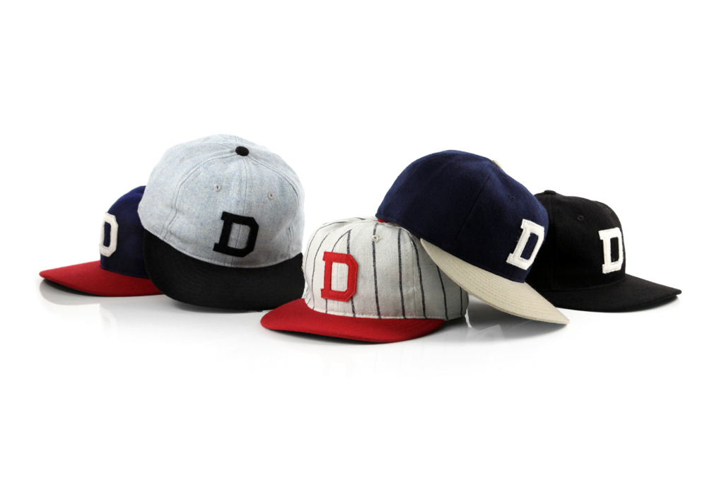 DQM x Ebbets Field Flannel Caps