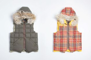 Eddie Bauer x Nigel Cabourn Canadian Vest
