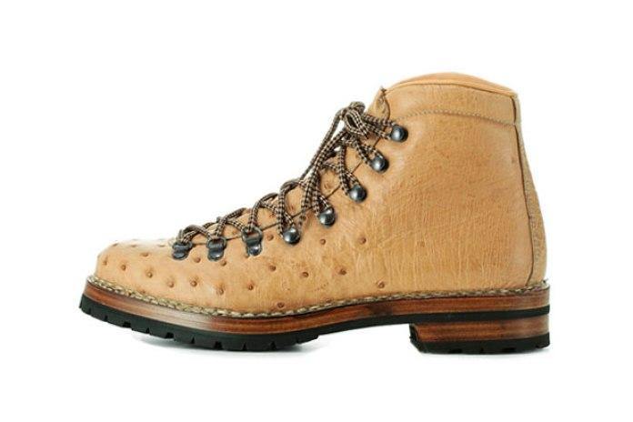 F.lli Giacometti Marmolada Ostrich Boot
