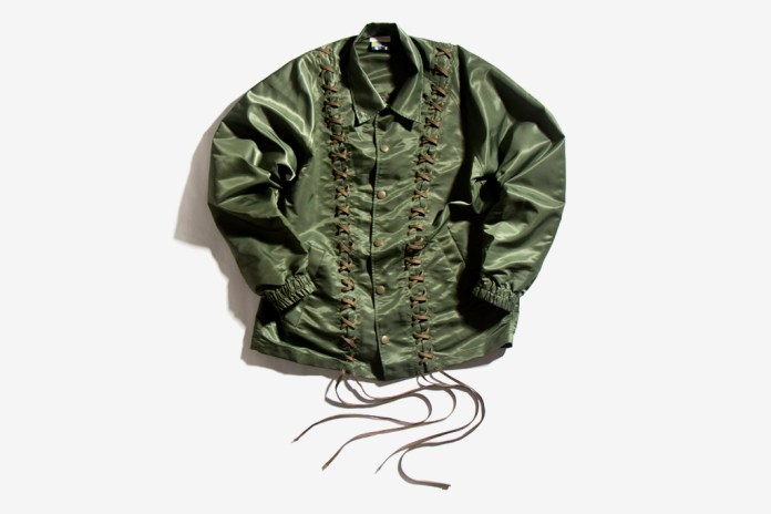 FACETASM Laced Coach Jacket