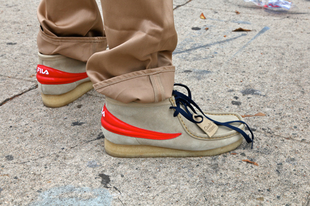fila x clarks filabees preview