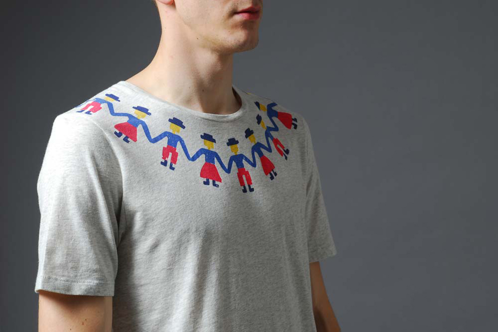 Folk x End Clothing Exclusive People T-Shirt