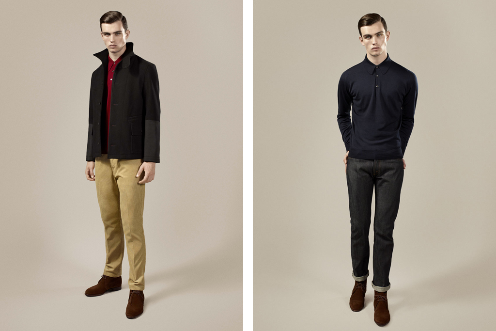fred perry 2011 fallwinter friends of fred collection featuring garbstore alfred sargent john smedley