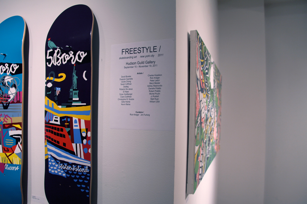 FREESTYLE / Skateboarding Art Exhibition @ Hudson Guild Gallery Recap