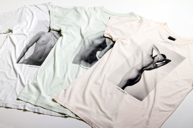 "Freshjive 2011 Fall ""The Nude Study Series"" T-Shirts (NSFW)"