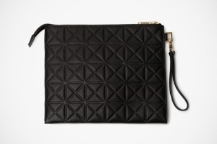 Gareth Pugh Leather iPad Case