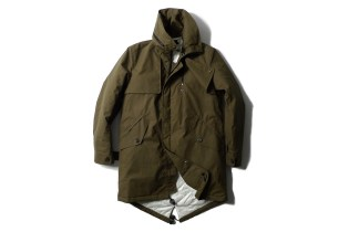 Heritage Research x wings + horns 2011 Fall/Winter Fishtail Parka
