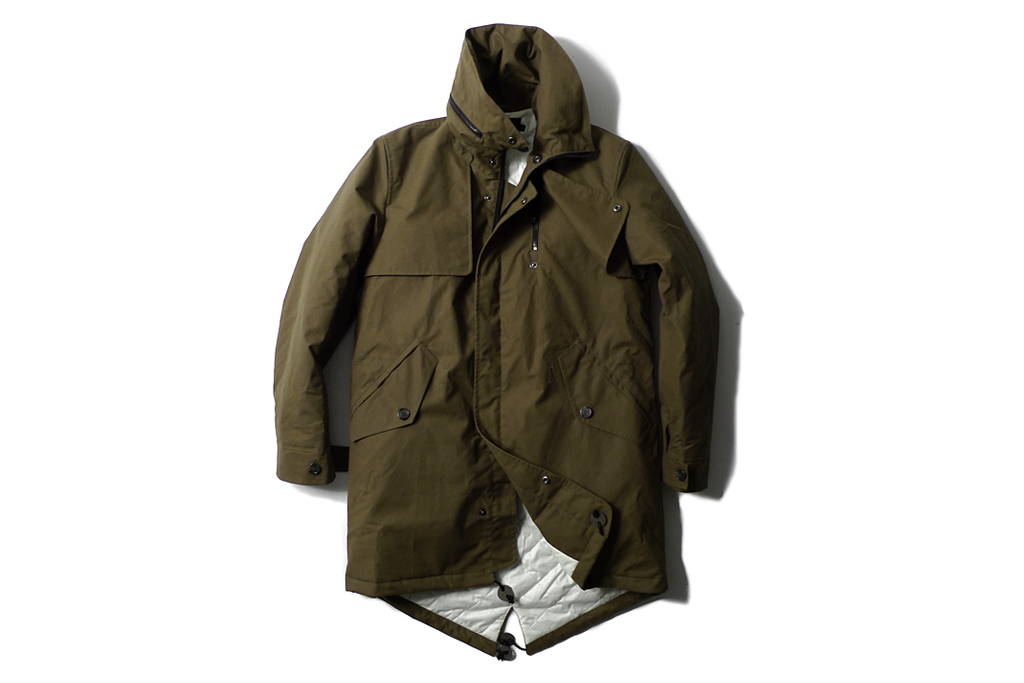 heritage research x wings horns 2011 fallwinter fishtail parka