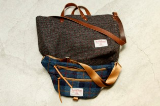 hobo Harris Tweed Tote & Shoulder Bag vendor NAGOYA Exclusive