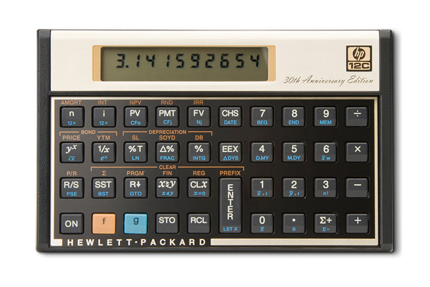 HP 12c 30th Anniversary Edition Scientific Calculator