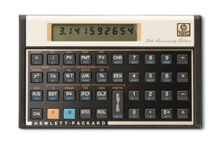 HP 12c 30th Anniversary Edition Scientific Calculator