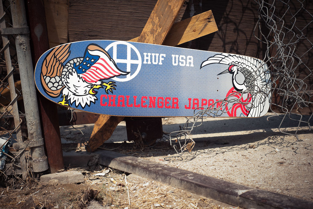 Challenger x HUF Capsule Collection
