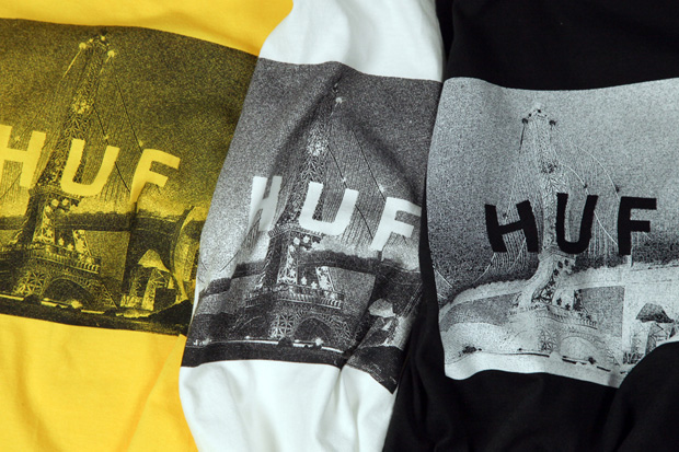 huf x cliche skateboards 2011 fall capsule collection
