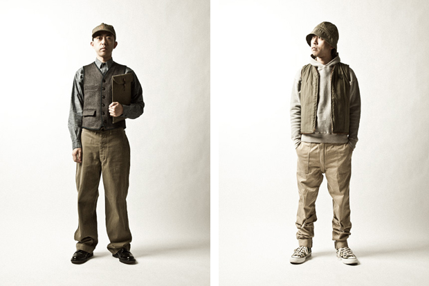 human made 2011 fallwinter lookbook
