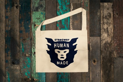 HUMAN MADE Canvas Tote Bag