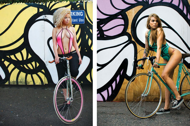 insa girls on bikes project