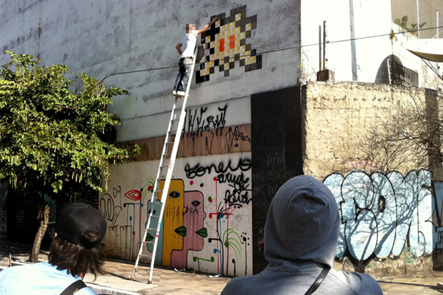 Invader in Sao Paulo