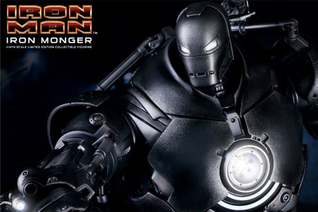iron man iron monger by hot toys
