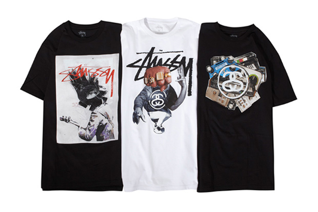 James Gallagher x Stussy T-Shirt Collection