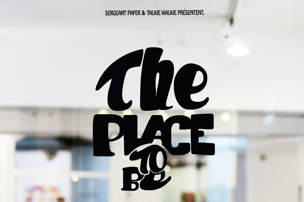 "Jean Michel Tixier ""The Place To Be!"" Exhibition @ Sergeant Paper Recap"